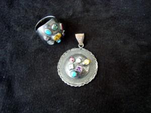 Пръстен и медальон комплект – N157 | Ring and pendant – set – N157