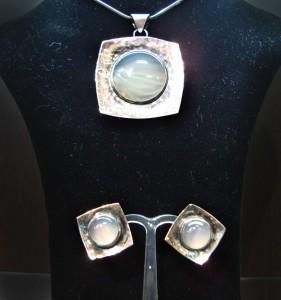 ковано сребро комплект ахат