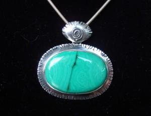 Малахит – медальон – N146 | Malachite – pendant – N146