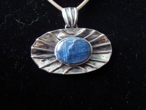 Кианит – медальон – N138 | Kyanite – pendant – N138