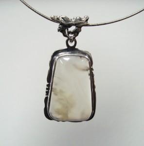 Ахат – медальон – N103 | Agate – pendant – N103