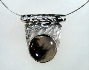 Обсидиан – медальон – N154 | Obsidian – pendant – N154