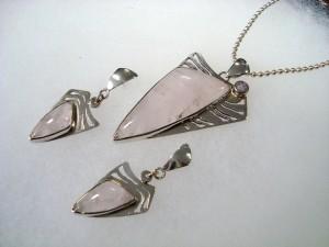 Розов Кварц – комплект – N165 | Pink Quartz – set – N165