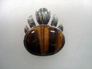 Тигрово Око – медальон – N175 | Tiger's Eye – pendant – N175