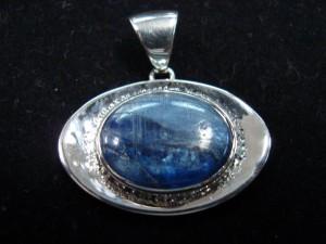 Кианит – медальон – N195 | Kyanite – pendant – N195