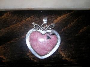 Родонит – медальон – N164 | Rhodonite – pendant – N164