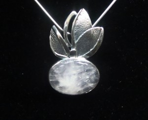 Розов Кварц – медальон – N166 | Pink Quartz – pendant – N166