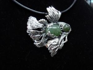 Нефрит – медальон – N229   Jade – pendant – N229