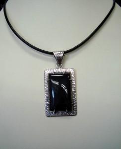 Оникс – медальон – N256 | Onyx – pendant – N256