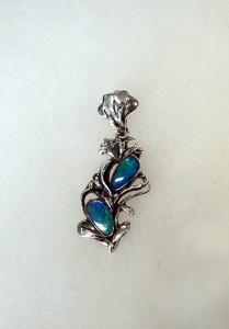 Опал – медальон – N265 | Opal – pendant – N265