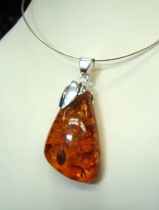 Кехлибар – медальон – N293   Amber – pendant – N293