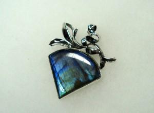 Лабрадорит – медальон – N289 | Labradorite – pendant – N289