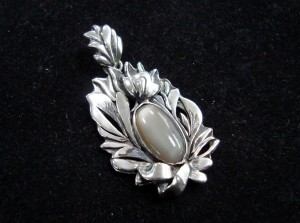Лунен камък – медальон – N288 | Moonstone – pendant – N288