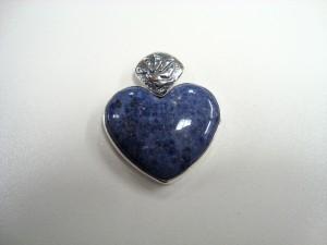 Дюмортиерит – медальон – N327 | Dumortierite – pendant – N327