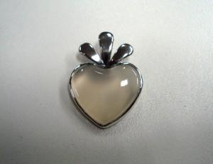 Халцедон – медальон – N328 | Chalcedony – pendant – N328