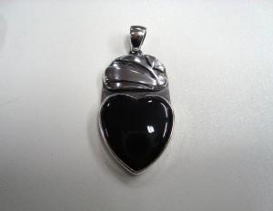 Обсидиан – медальон – N329 | Obsidian – pendant – N329