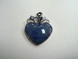 Син Кварц – медальон – N331 | Blue Quartz – pendant – N331