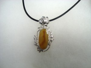 Карнеол – медальон – N348 | Carneol – pendant – N348