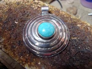 Тюркоаз – медальон – N366 | Turquoise – pendant – N366