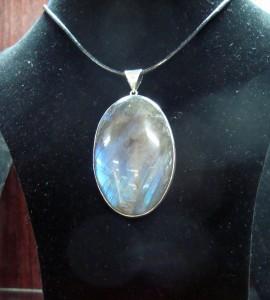 Лабрадорит – медальон – N384 | Labradorite – pendant – N384