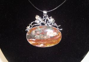 Яспис – медальон – N407 | Jasper – pendant – N407
