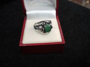 Изумруд – пръстен – N429 | Emerald – ring – N429