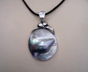 Таитянска Перла – медалон – N493 | Tahitian Pearl – pendant – N493