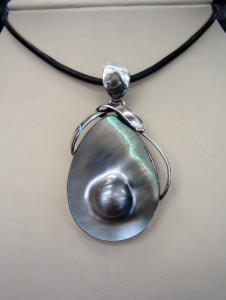 Таитянска Перла – медалон – N494 | Tahitian Pearl – pendant – N494