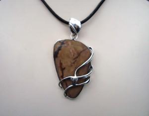 Яспис – медальон – N477 | Jasper – pendant – N477