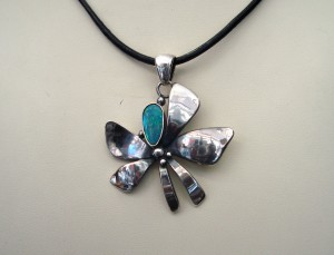 Опал – медальон – N512 | Opal – pendant – N512