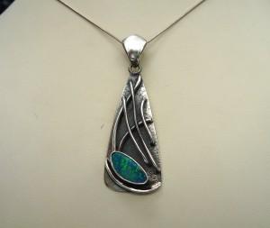 Опал – медальон – N507 | Opal – pendant – N507