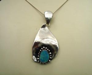 Опал – медальон – N508 | Opal – pendant – N508