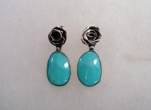 Тюркоаз – обеци – N468 | Turquoise – earrings – N468