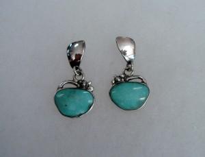 Тюркоаз – обеци – N469 | Turquoise – earrings – N469