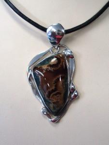 Офреев Ахат – медальон – N518 | Orpheus Agate – pendant – N518