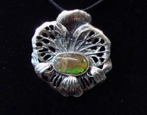 Амолит Канада – медальон – N536 | Ammolite Canada – pendant – N536