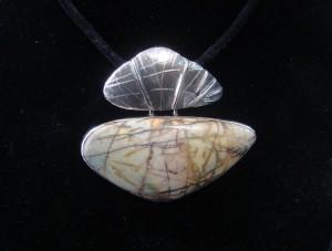 Яспис – медальон – N572 | Jasper – pendant – N572