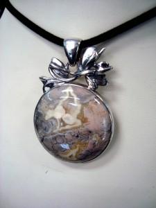 Вогесит – медальон – N569 | Vogesite – pendant – N569