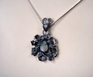 Лунен камък – медальон – N568 | Moonstone – pendant – N568