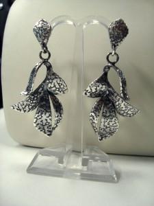 Обеци с гравюра – N558 | Engraved earrings – N558