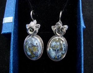 Ахат – обеци – N582 | Agate – earrings – N582