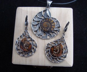 Фосил – комплект – N590 | Fossil – pendant – N590