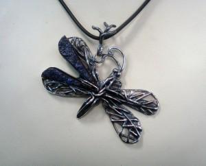 Азурит – медальон – N596   Azurite – pendant – N596