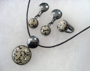 Леопардов Яспис – комплект – N601 | Leopard Jasper – set – N601