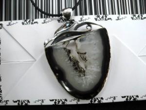 Ахат – медальон – N611 | Agate – pendant – N611