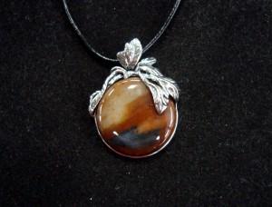 Ахат Рабово – медальон – N618 | Agate Rabovo – pendant – N618