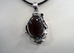 Обсидиан Мексико – медальон – N631 | Obsidian Mexico – pendant – N631