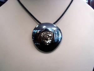 Пирит – медальон – N632 | Pyrite – pendant – N632