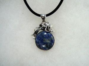 Содалит – медальон – N645 | Sodalite – pendant – N645