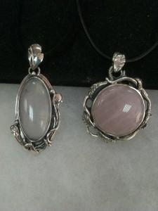 Розов Кварц – медальон – N724